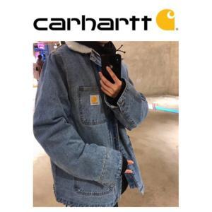 カーハート carhartt コート デニム ジャケット ランチジャケット防寒 メンズ  父の日|cobalt-shop
