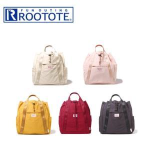ブランド:ルートートROOTOTE   トートバッグ、リュックの2way機能のおしゃれバッグ!   ...