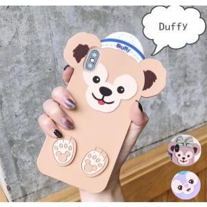 ダッフィー シェリーメィ iphoneケース スマホケース キャラクター ディズニー 携帯ケース アイフォンケース|cobalt-shop