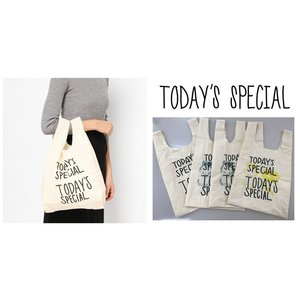 TODAY'S SPECIAL トゥデイズスペシャル Shibuya Mini Marche Bag  todays special ミニマルシェバッグ エコバッグ トート|cobalt-shop