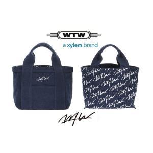★WTWシリコンバンド無料贈呈★WTW TOTE  S NV ダブルティー トートバッグ リバーシブル  Sサイズ ダブルティー 限定 ネイビー cobalt-shop
