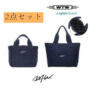 WTW TOTE  S/M サイズ 二枚セットメデューム NV  リバーシブル ダブルティートート  cobalt-shop