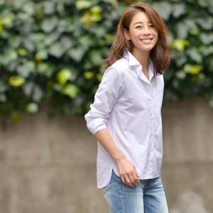 シャツ 長袖 コットン 白シャツ 2way トップス Yシャツ ロールアップ ホワイト 16ss メール便可|cocacoca