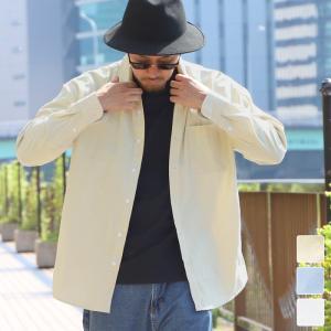 オックスフォードシャツ メンズ トップス カジュアル ワイシャツ シンプル 長袖 通気性 ドライ ビジネス ポケット ブラウス オーバーサイズ 19aw メール便不可|cocacoca