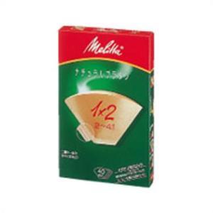 メリタ フィルターペーパー ナチュラルブラウン 1×2 40枚入