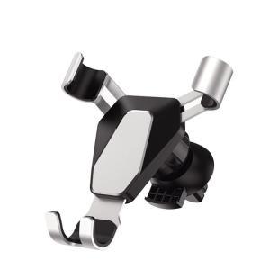 スマホ 車載ホルダー  落下防止 スマホホルダー 車載スタンド エアコン吹き出し口用 車載用  片手操作可能 自由調節可能 斬新なギア連動技術 携帯ホ coco-fit2018