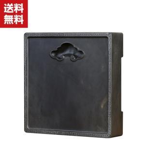 端渓 硯 天然型硯 硯石 1.05kg 12.6X12.6X3.1cm 本石硯 すずり 書道用品|coco-fit2018