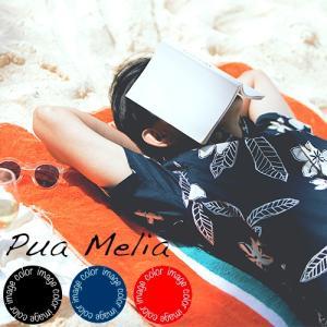 アロハシャツ かりゆしウェア メンズ(男性用)「Pua Me...