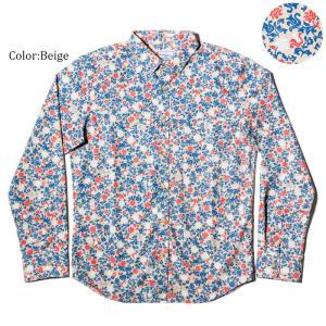 かりゆしウェア アロハシャツ メンズ(男性用) Little Flower 全3色 沖縄結婚式にアロハシャツ 送料無料 coco-j