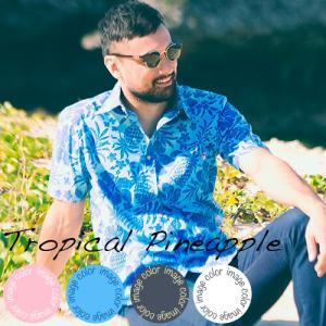 アロハシャツ かりゆしウェア メンズ(男性用)「Tropic...