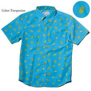 かりゆしウェア アロハシャツ メンズ(男性用) Little Mix 全3色 半袖沖縄結婚式にアロハシャツ 送料無料|coco-j