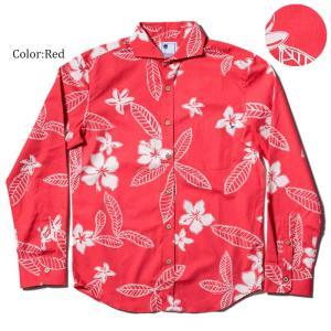 かりゆしウェア アロハシャツ メンズ(男性用) Pua Melia 全3色 沖縄結婚式にアロハシャツ 送料無料 coco-j