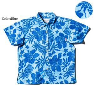 アロハシャツ かりゆしウェア キッズ(子供用)「Tropic...