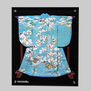 ミニチュア着物鼓の滝 空色|coco-sode