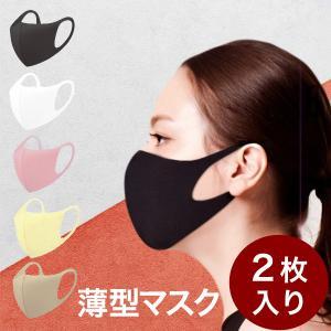 【薄型マスク】夏用 洗える 抗菌 エアロシルバー 2枚 3D 立体 マスク 大人用  マスク 繰り返...