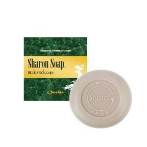 シャロン ナチュラル石鹸100g【顔・体用】石けん 洗顔 アトピーケア トラブル肌ケア 敏感肌用 せっけん|coco24