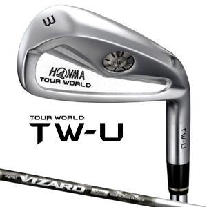 HONMA -本間ゴルフ-  TOUR WORLD TW-U ユーティリティーアイアン  VIZARD UT850 シャフト