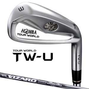 【メーカー特注】 HONMA -本間ゴルフ-  TOUR WORLD TW-U ユーティリティーアイアン  VIZARD IB95 シャフト