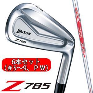 【ただいまポイント5倍!!】 スリクソン Z785 アイアン  6本セット(#5〜9・PW)  N....
