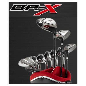 【メンズフルセット】 WORKS GOLF -ワークス ゴルフ- NEW DR-X ドラックス メンズ 11本セット 【キャディバッグ付】