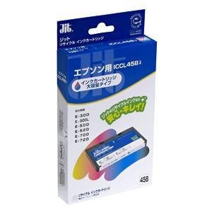 サンワサプライ リサイクルインクICCL45B互換4色一体型 JIT-ECL45B|cocoatta