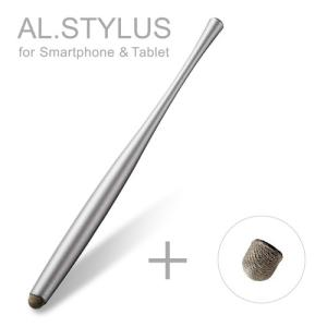 エレコム ELECOM 導電繊維タッチペン AL.STYLUS グレー P-TPATCF01GY