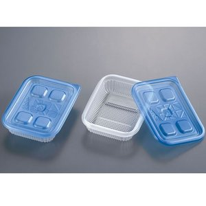 旭化成 ジップロック コンテナー ごはん保存容器 一膳用 2個入