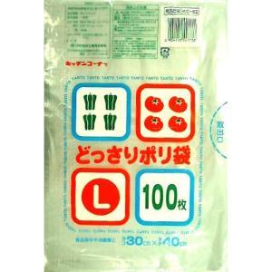 日本技研 どっさりポリ袋 L 100枚 KC−62 5662340