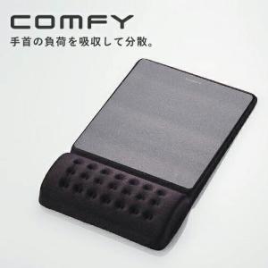 エレコム ELECOM COMFY マウスパッド ブラック MP-096BK