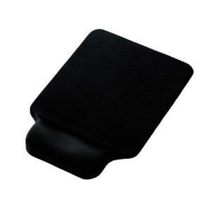 エレコム ELECOM 手首らくぴた リストレスト 付きゲル マウスパッド ブラック MP-GELB...