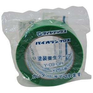 ダイヤテックス パイオランクロス 養生用テープ 38mm×25m 緑 Y-09-GR