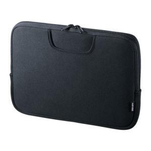 サンワサプライ ポケット付きインナーケース 11.6型ワイド IN-WETP11BK