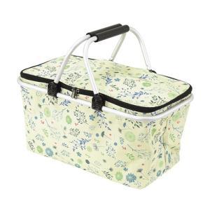 カクセー たためるピクニック保冷バッグ ボタニカル調 BN-12の商品画像|ナビ