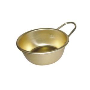 アルマイト マッコリカップ 手付 11cm ゴールド RMT2002