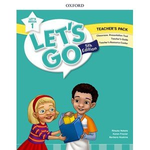 Oxford University Press Let's Go 5th Edition Let's Begin 1 Teacher's Packの商品画像|ナビ