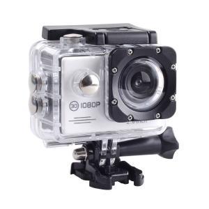 SAC フルHD 1080p 対応白色 アクション カメラ 2インチ 液晶 30M 防水ケース付き AC200WH cocoawebmarket