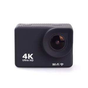 4K対応 アクションカメラ MC8000BK (Wifi接続でアプリと連動/リモコンつき/30メートル防水ケースつき) cocoawebmarket