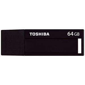 【メール便配送のみ】   東芝 TOSHIBA USBメモリ 64GB USB3.0 2.0対応 ブラック  TNU-C064GK|cocoawebmarket
