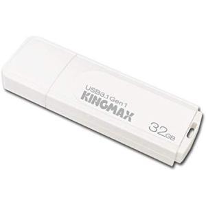 【ヤマト運輸メール便のみ】 KINGMAX USBメモリ 32GB USB3.0 & USB3.1 Gen 1 キャップ式 ホワイト KM32GPB07W cocoawebmarket