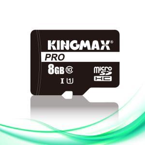 【ネコポスのみ】 KINGMAX キングマックス microSDHCカード 8GB Class10 UHS-I 対応 SD変換アダプター付属  KM08GMCSDUHSP1A-1|cocoawebmarket