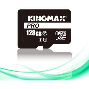 【ネコポス便】 KINGMAX キングマックス microSD128GB Class10 UHS-I 対応 SD変換アダプター付属 スマホ カメラ パソコン 等 KM128GMCSDUHSP1A-1|cocoawebmarket