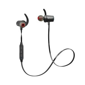 エレコム Bluetooth ブルートゥース イヤホン ワイヤレス 迫力の重低音 フラットケーブル リモコンマイク付 GrandBass 1年間保証 ブラック LBT-HPC40ECBK|cocoawebmarket