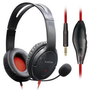 エレコム ヘッドセット ゲーミングヘッドセット オーバーヘッドフォン 2.0m ミュート機能付 PC/PS4/Nintendo Switch対応 HS-F01XBK|cocoawebmarket