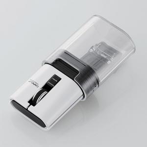 【商品情報】 持ち運び時は小さく、使用時は大きく。 キャップに収納し、クリップで挟んで持ち運べる、I...