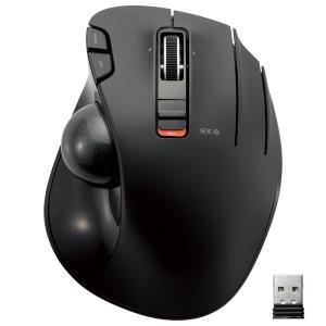 ELECOM エレコム ワイヤレスマウス トラックボール 6ボタン ブラック M-XT3DRBK