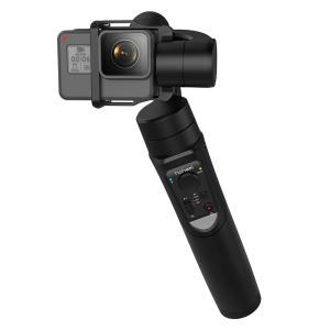 Hohem アクションカメラ用 3軸ジンバル スタビライザー ブラック iSteady Pro cocoawebmarket