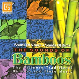 リンディック   THE SOUNDS OF BAMBOOS(CD)   バリ 音楽 CD ガムラン バリ島   試聴OK バリ雑貨 バリ風 インテリア メール便対応可|cocobari