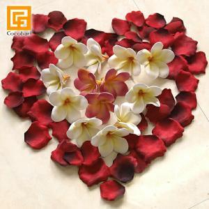 ローズの花びら   造花 バラ 赤 リアル ウェルカムフラワー ウェディング 結婚式 フラワーシャワー バリ雑貨 バリ風 インテリア メール便対応可 cocobari