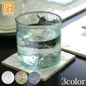 シェルのコースター(スクエア)(3色展開)   アジアン雑貨 バリ おしゃれ リゾート 貝 バリ雑貨 バリ風 インテリア メール便対応可|cocobari