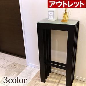アウトレット アジアン家具 格子のスタンドテーブル lxl バリ家具 バリ風 コンソール チーク材 スリム|cocobari